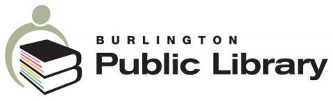 Burlington Public Library logo