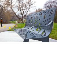 Ibrahim Rashid, Bird's Nest, public art bench