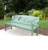 Asli Alin, Dragonflies, public art bench