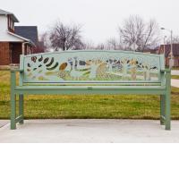 Asli Alin, Sun, public art bench